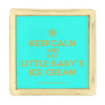 [Cupcake] keepcalm and eat little baby's ice cream  Lapel Pin