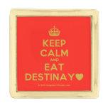 [Crown] keep calm and eat destinay♥  Lapel Pin