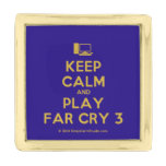 [Computer] keep calm and play far cry 3  Lapel Pin