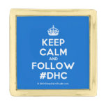 [Crown] keep calm and follow #dhc  Lapel Pin