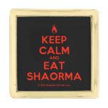 [Campfire] keep calm and eat shaorma  Lapel Pin