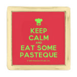 [Chef hat] keep calm and eat some pasteque  Lapel Pin