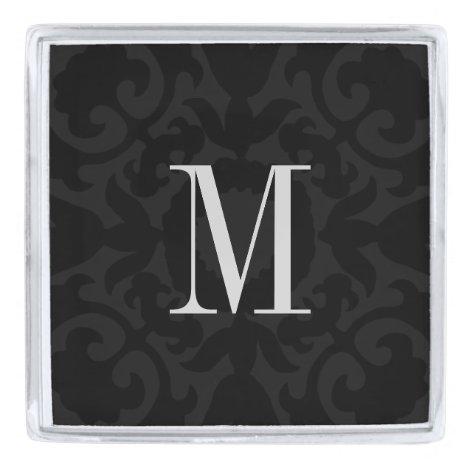 Lapel Pin - Black Crest
