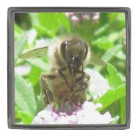 Lapel Pin - Honey Bee Portrait