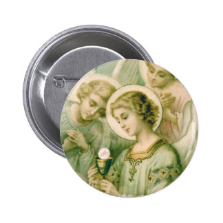 Lapel Pin: My Soul Rends the Veil Pinback Button