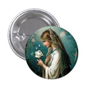 Lapel Pin: Mystical Rose Button
