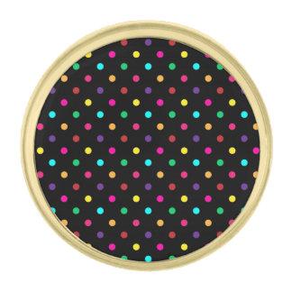 Lapel Pin Polka Dots