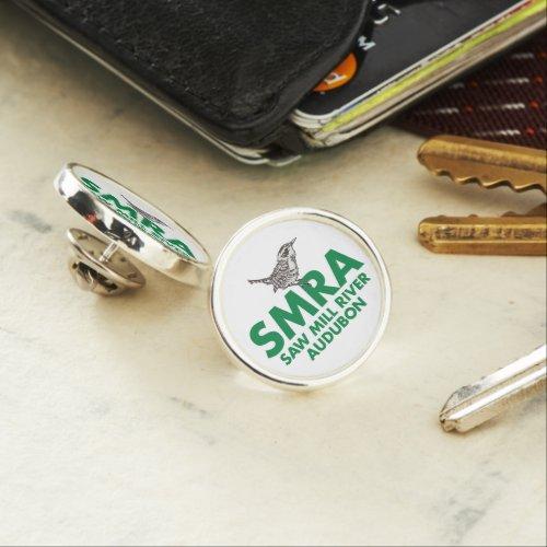 Lapel pin with SMRA logo