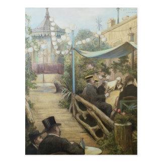L'Aperitif Concert, Rue Dorsel Postcard