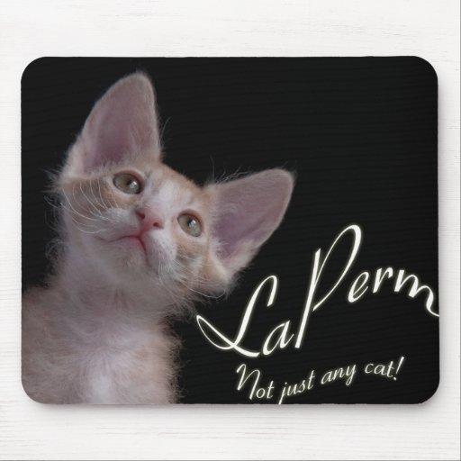 LaPerm cat mousepad