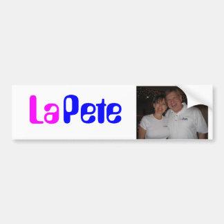 LaPete Bumper Sticker