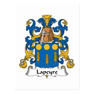 Lapeyre Family Crest Postcard