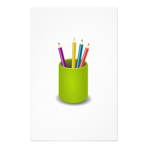 Lápices coloreados papelería personalizada