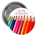 Lápices coloreados pin
