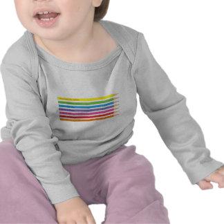 Lápices coloreados camiseta