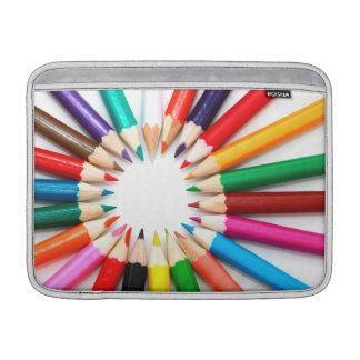 Lápices coloridos funda para macbook air