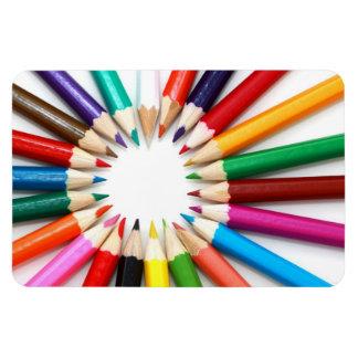 Lápices coloridos imanes flexibles