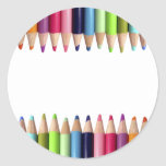Lápices de Colores Pegatina