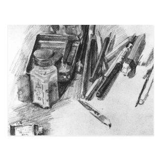Lápices de Mikhail Vrubel- Tarjetas Postales