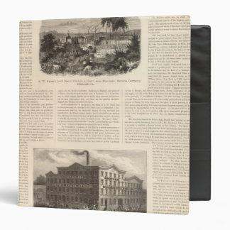 "Lápices de ventaja del AW Faber Carpeta 1 1/2"""