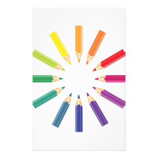 Lápices del color papeleria