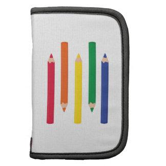Lápices del color organizadores