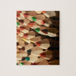 Lápices del colorante puzzle