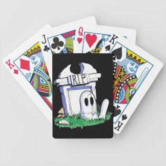 Lápida mortuaria cartas de juego