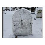 Lápida mortuoria de Susan B. Anthony Grave Postal