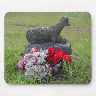 Lápida mortuoria Mousepad del cordero