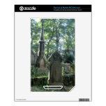 Lápidas mortuarias del Victorian en el Parsonage d NOOK Color Skins