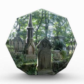Lápidas mortuarias del Victorian en el Parsonage d
