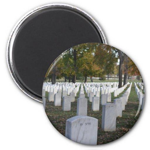 Lápidas mortuorias de la caída 2013 del cementerio imán redondo 5 cm