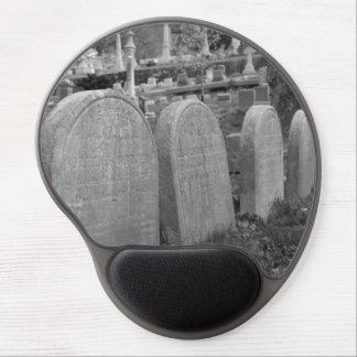 lápidas mortuorias viejas alfombrilla gel