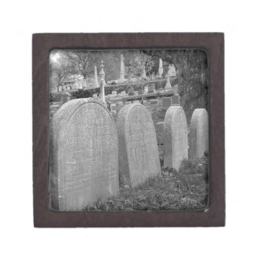 lápidas mortuorias viejas cajas de joyas de calidad