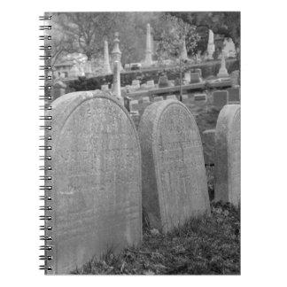 lápidas mortuorias viejas libretas
