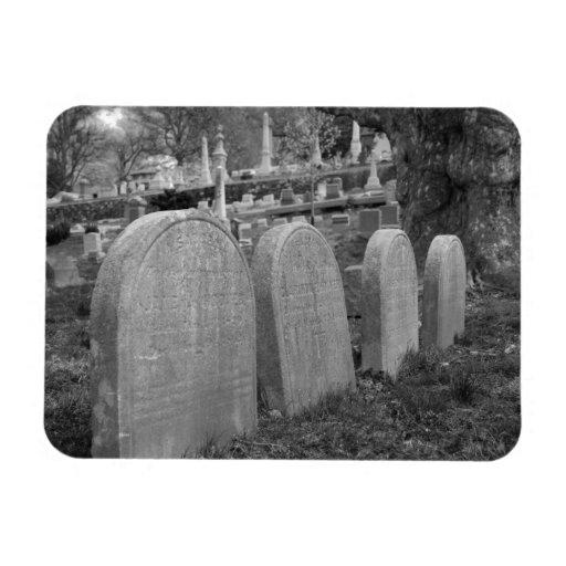 lápidas mortuorias viejas imanes de vinilo