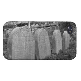 lápidas mortuorias viejas iPhone 4 carcasa