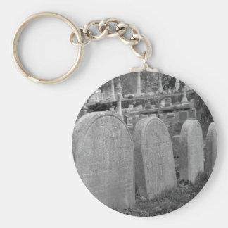 lápidas mortuorias viejas llaveros personalizados