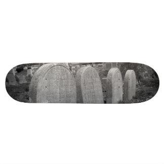 lápidas mortuorias viejas tabla de patinar