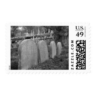 lápidas mortuorias viejas franqueo