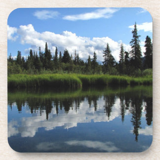 Lapie River Reflection Beverage Coaster
