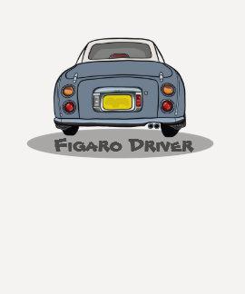 Lapis Grey Nissan Figaro Driver Customise T Shirt