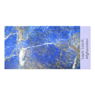 Lapis Lazuli, Afghanistan Photo Cards