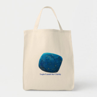 Lapis Lazuli for Clarity Tote Bag
