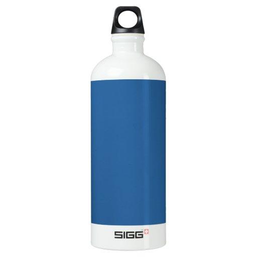 LAPIS LAZULI (solid rich blue color) ~ Water Bottle