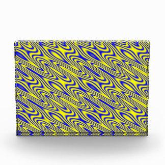 Lapis Lazuli Swirlies Abstract Pattern Decoration Award
