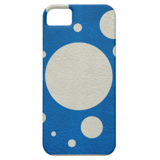 Lapis Scattered Spots on Stone Leather Texture iPhone 5 Cases