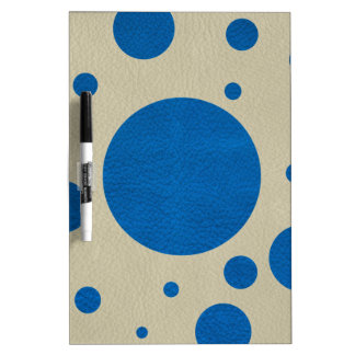 Lapis Scattered Spots on Stone Leather Texture Dry-Erase Whiteboards