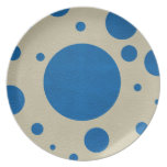 Lapis Scattered Spots on Stone Leather Texture Plate